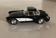"""1957 Chevrolet Corvette Die Cast Metal Model Car 5"""" Kinsmart - Wind Up Action"""