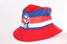ENGLAND 1982 WORLD CUP FOOTBALL SHIRT BULLDOG BOBBY RED RETRO SUNHAT HAT 58cm