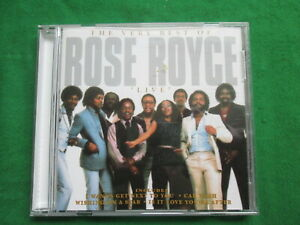 THE VERY BEST OF ROSE ROYCE - LIVE - 1996 SOUND AND MEDIA LTD - CD