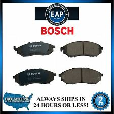 For G35 G37 M35 M37 FX35 FX37 Q45 350Z 370Z Bosch QuietCast Disc Brake Pad New