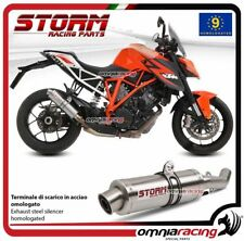 Storm GP Exhaust steel approved for KTM 1290 SUPERDUKE 2014 >
