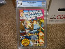 Cable Blood and Metal 1 cgc 9.8 Marvel 1992 1st solo series X-Men X-Force Stryfe