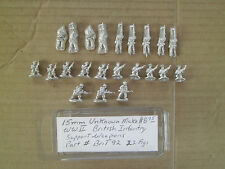 15mm Command Decision  WWII British Infantry support Weapons