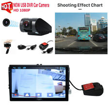 1X 720P HD USB Single Lens Car Front Camera Video Recorder DVR for Android Radio