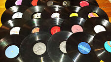 Lot of 100 LP Vinyl RECORDS Party Music Theme Decorating Arts Crafts Frisbees +
