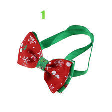 1pc Christmas Dog Cat Pet Puppy Bow Knot Necktie Collar Bow Tie Clothes Cute Toy 1