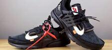 """Blanc-cassé x Nike Air Presto """"LE DIX"""" UK 9 Virgil Abloh Noir AA3830-002"""