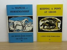 Pony Club Hardback Books (1960s) in Good Condition. Free Postage.