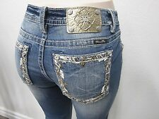 NWT MISS ME Embellished Signature Skinny Ankle Jeans JP8715AK  Size W30 X L27
