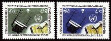 Siria Syria 1970 ** mi.1097/98 satélite Satellite meteorología Meteorology
