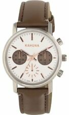 Kahuna Womens Brown Strap White Dial Kls-0318l Watch - 9 off