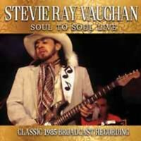 SOUL TO SOUL LIVE  by STEVIE RAY VAUGHAN  Compact Disc  HB034