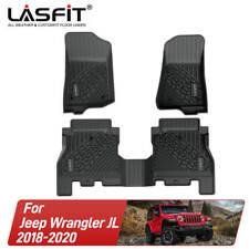 For JeepWrangler Jl Full Set 2018 2019 2020 Floor Mats Liners Tpe All Weather