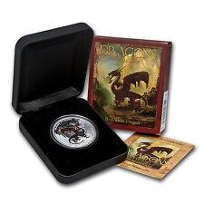 2012 1 oz Silver Dragons of Legend Proof (Red Welsh) - SKU #71064