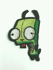 Invader zim Gir in dog costume iron on patch 80mm