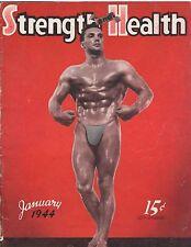 Strength & Health Bodybuilding Weightlifting Magazine/Victor Nicoletti 1-44