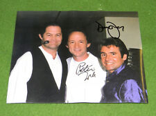 The Monkees SIGNED PHOTO Davy Jones Peter Tork '97 Greenville SC Collectors L@@K
