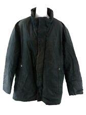 HUGO BOSS Mens Jacket Coat XL Black Cotton & Polyester