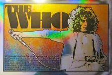 The Who 50th Anniversary Roger Daltrey Sparkle Foil Variant Print Chuck Sperry