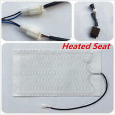 12V Car Heated Heating Seat Cover Pad Carbon Fiber3 Files Colorful Switch Button