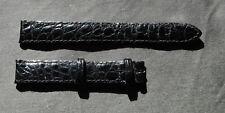 JAEGER LECOULTRE Bracelet de Montre 14 MM REVERSO Crocodile NEUF