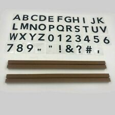 New Set Of One Wall Letter Board W/2 Ledges & 120 Characters (2.5� X 15�)