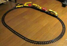 Caterpillar CAT Construction Express Train Set -- Assessories & Track - Complete