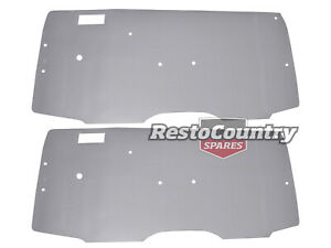 Ford Door Trim Plastic Backing Gasket PAIR XA XB XC Coupe Left + Right