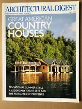 ARCHITECTURAL DIGEST MAGAZINE | July 2014 American Country Houses , Summer Yacht