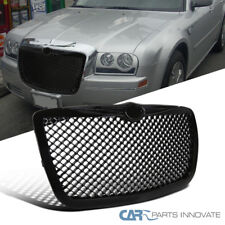 05-10 Chrysler 300 300C Front Black ABS Mesh Honeycomb Style Hood Grill Grille