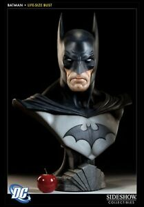 Sideshow Collectibles Life Size Batman Bust VERY RARE