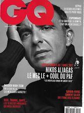 GQ N°116 déc.2017-janvier 2018 N. Aliagas/ Hommes de l'année/ Kassovitz/ Mayer