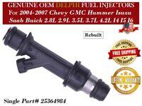 6pcs OE Fuel Injector 25380534 for GMC Chevy Buick Isuzu Saab Hummer 2.8 2.9