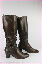 Boots MITICA VENEZIA Brown Leather T 40 VERY GOOD CONDITION