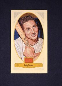 2012 Panini Golden Age Mini Broadleaf Brown Ink #59 Bobby Thomson - NM-MT
