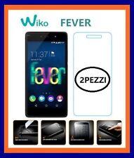 2PEZZI Vetro temprato pellicola protettiva display per WIKO FEVER / 4G