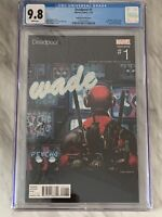 Deadpool 1 Andrews Hip Hop Variant CGC 9.8 2016