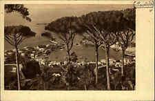 Ischia Porto Hafen Totalblick Italien Heimatbeleg im Postkarten-Format ~1930/40