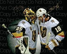 Vegas Golden Knights Fleury Neal signed photo 8X10 picture poster autograph RP