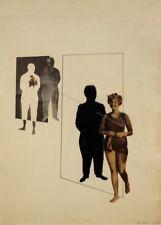 "LASZLO MOHOLY-NAGY ""Future Present"" Bauhaus Constructivism 250gsm A3 Poster"