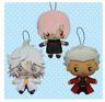 FGO Fate / Grand Order Plush 3 set Mash Emiya Merlin Stuffed toy Doll JAPAN