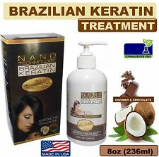 Chocolate Brazilian Keratin withouth Formaldehyde Medium Curly Hair 8 ounces