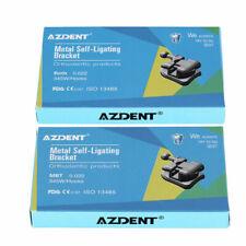Dental Orthodontic Self Ligating Brackets Amp Buccal Tube Mini Mbtroth 022 Azdent