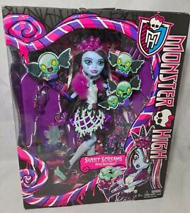 MONSTER HIGH SWEET SCREAMS ABBEY BOMINABLE DOLL - RETIRED - NEW 2014