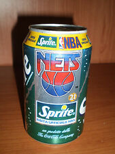 CAN LATTINA SPRITE BIBITA UFFICIALE NBA NETS 21 SERIE SPECIAL THE COCA COLA rara