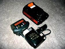 1 New Genuine Black Decker Lbxr20 20Volt Battery + Lcs1620 Battery Charger Combo
