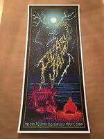 Pearl Jam Madrid Spain Concert Poster Brad Klausen Mad Cool Festival Show Print