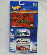 HOT WHEELS HIGHWAY 35 YU-GI-OH! 3 CAR SET  LIMITED EDITION COLLECTOR GUIDE