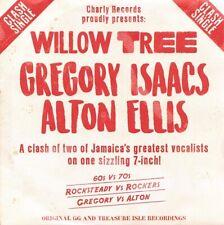 **  GREGORY ISAACS  ALTON ELLIS  WILLOW TREE  BACK2BACK CUTS OF REVIVE CLASSIC!!
