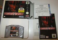 Fighters Destiny - Nintendo 64 N64 GIG PAL SPESE GRATIS